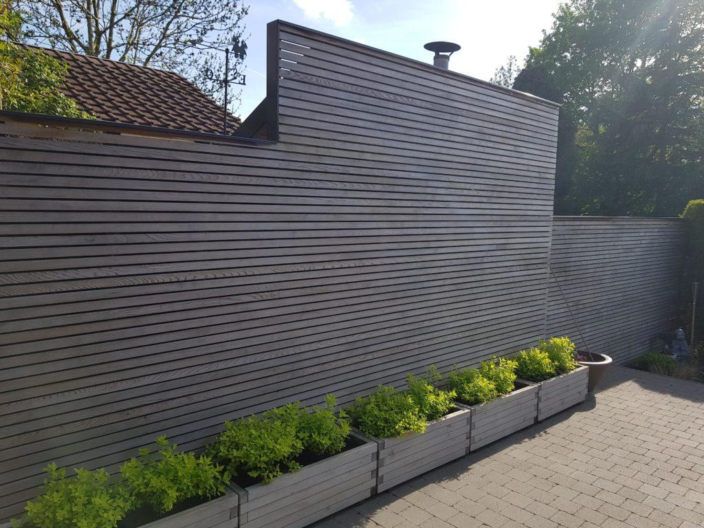Wood & co ecran jardin