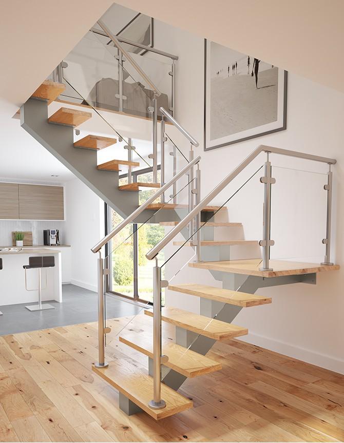Wood & co escalier