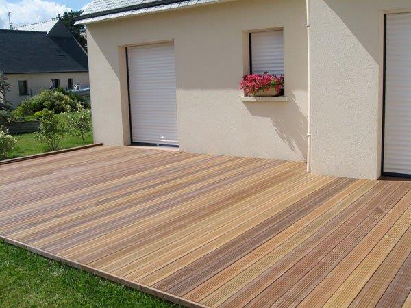 WOOE ECO terrasse en bois pose lames