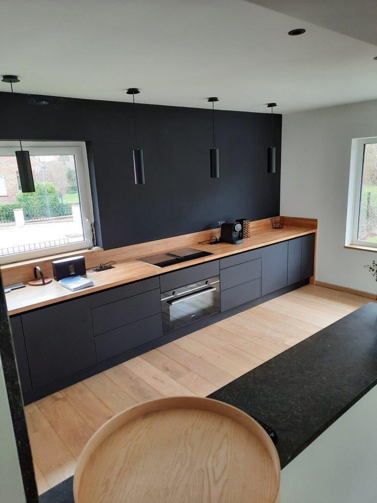 wood eco cuisine noire