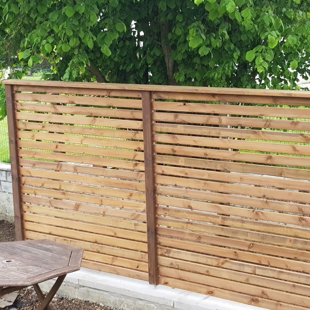 wood eco ecran jardin