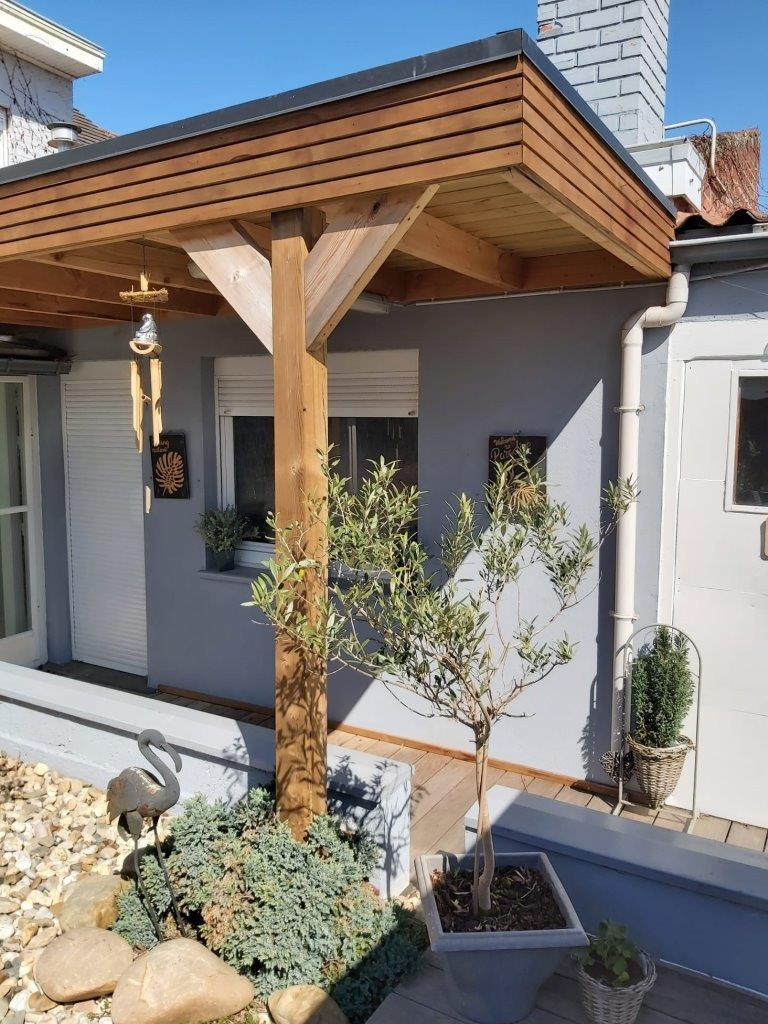 wood eco patio bardage